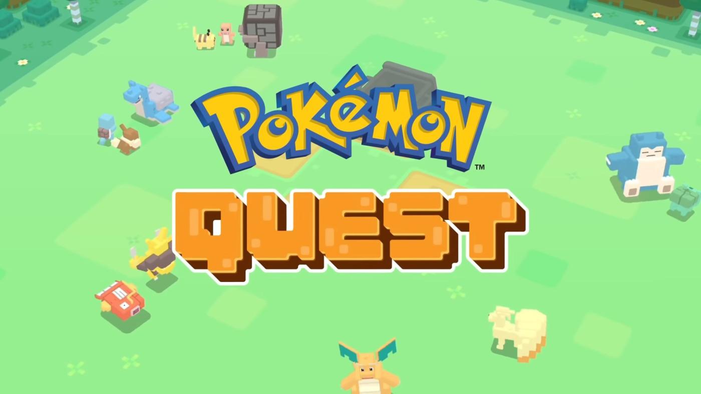 """Nintendo annonce le lancement d'un nouveau jeu """"Pokémon Quest"""" sur iOS ce mois-ci"""