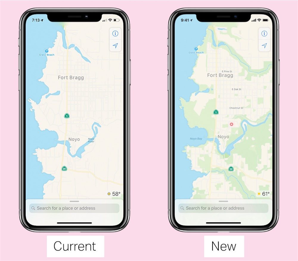 Apple est en train de reconstruire Maps avec ses propres données