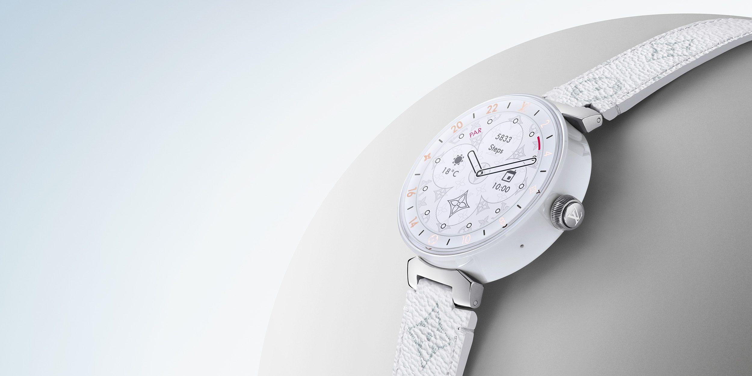 Louis Vuitton présente sa nouvelle Tambour Horizon avec Snapdragon Wear 3100
