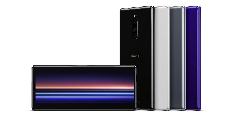 Le Sony Xperia 1 débarque avec le tout premier écran 4K HDR OLED au format 21:9
