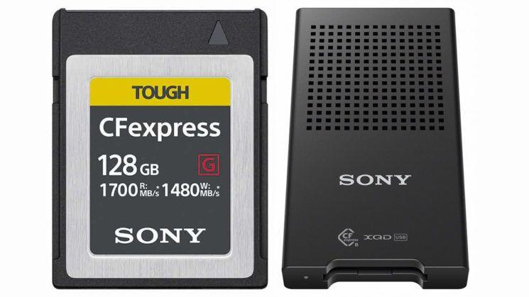 Sony présente ses nouvelles cartes mémoire CFexpress, deux fois plus rapides…