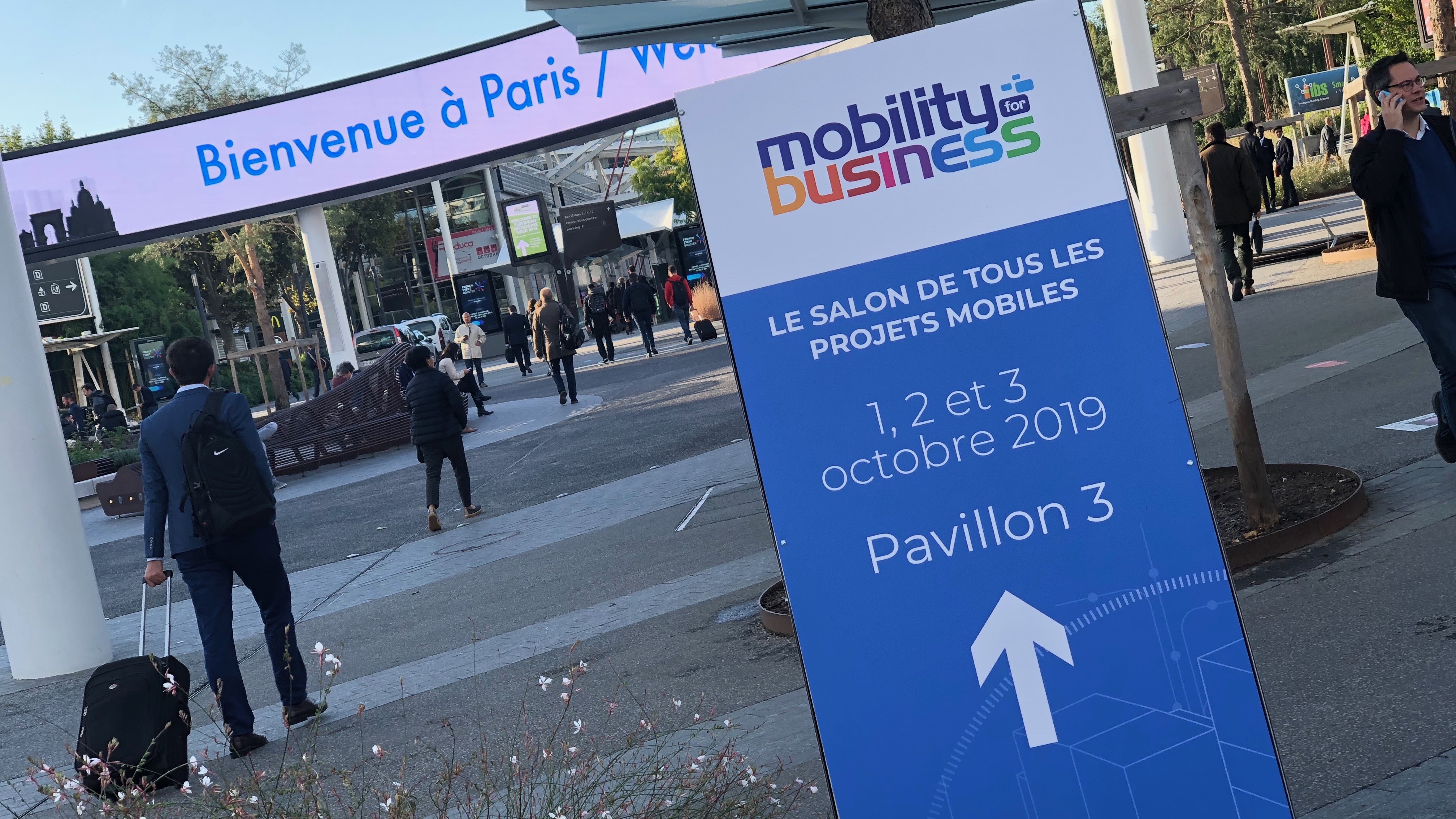 ​Bilan positif pour Mobility for Business 2019
