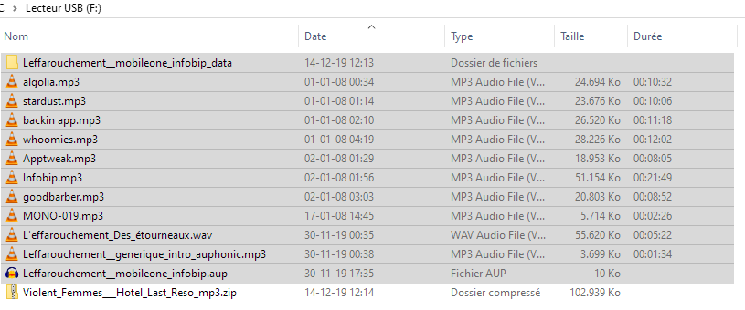 Récupérer les données d'une carte SD ou de tout periphérique de stockage externe