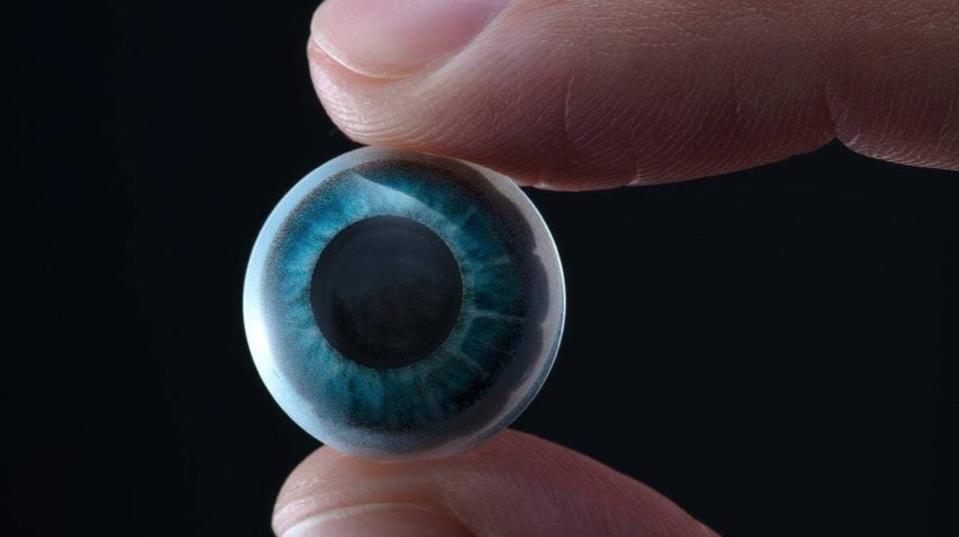 En attendant les lunettes, voici les lentilles de contact pour la réalité augmentée