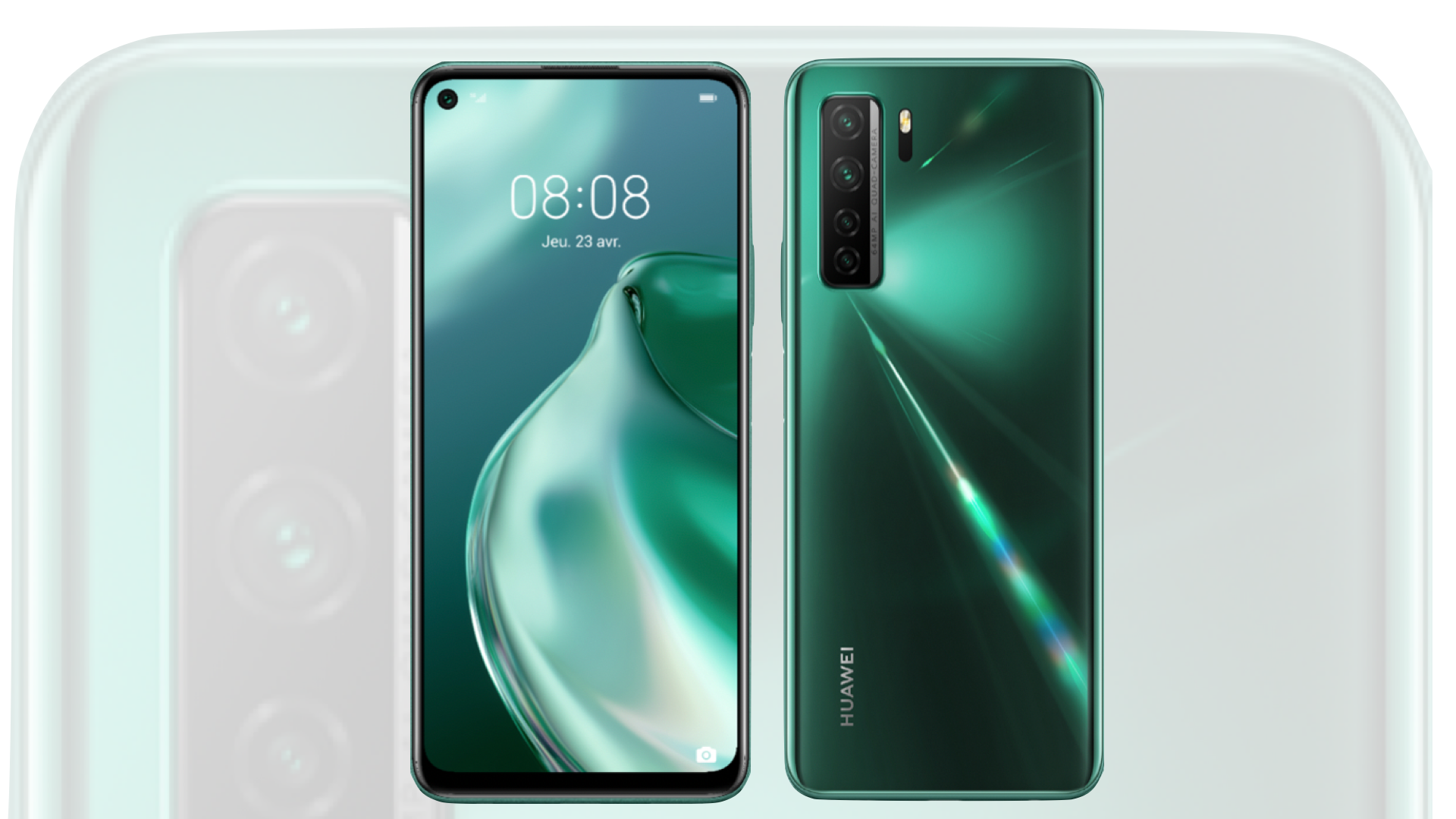 HUAWEI annonce la disponibilité du HUAWEI P40 lite 5G en France
