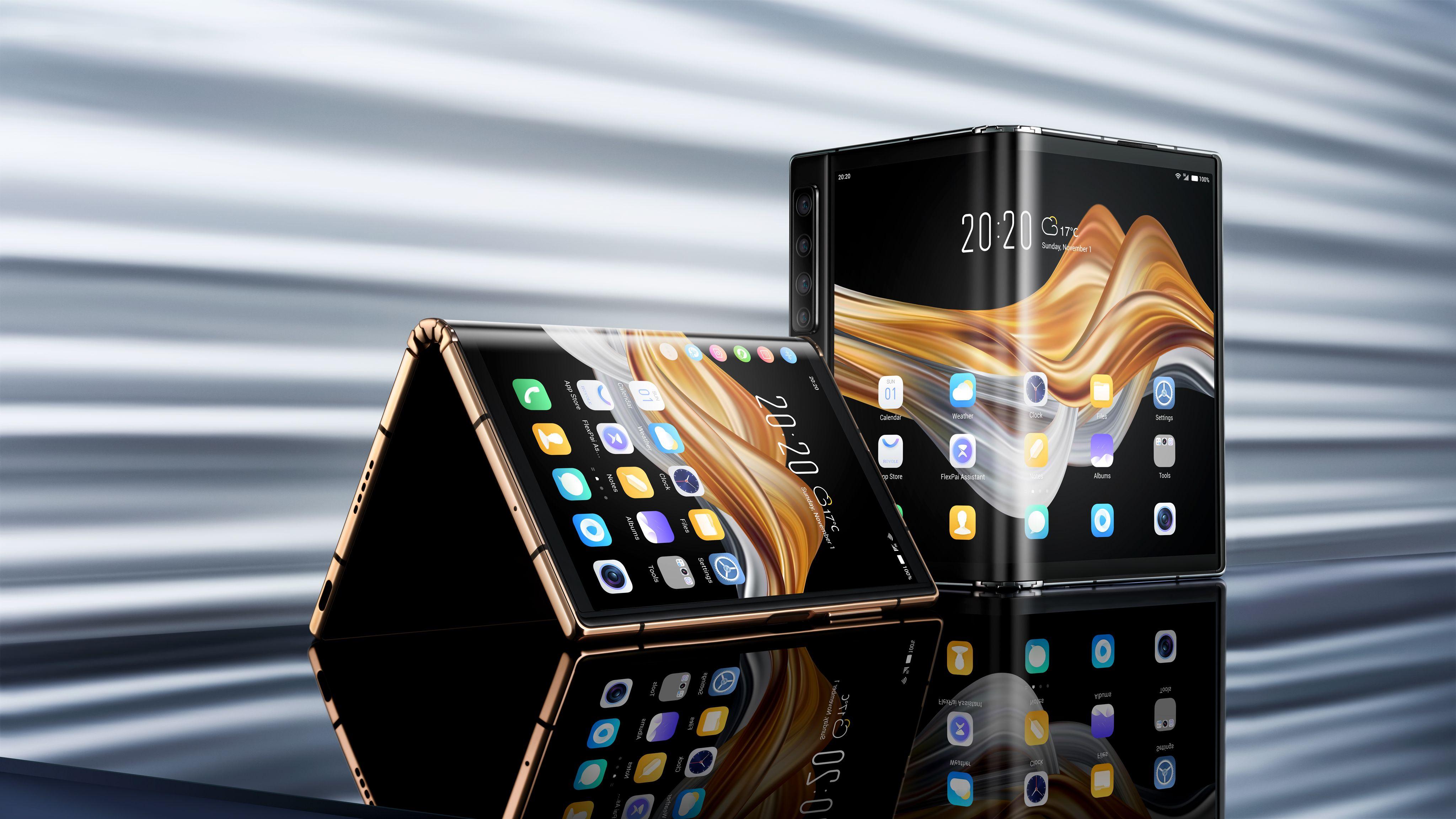 Royole dévoile son nouveau smartphone pliable FlexPai 2