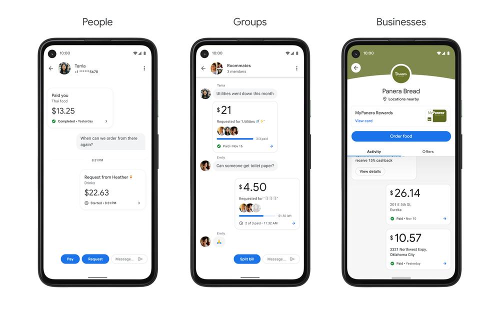 Google agrège les comptes bancaires dans l'application Google Pay