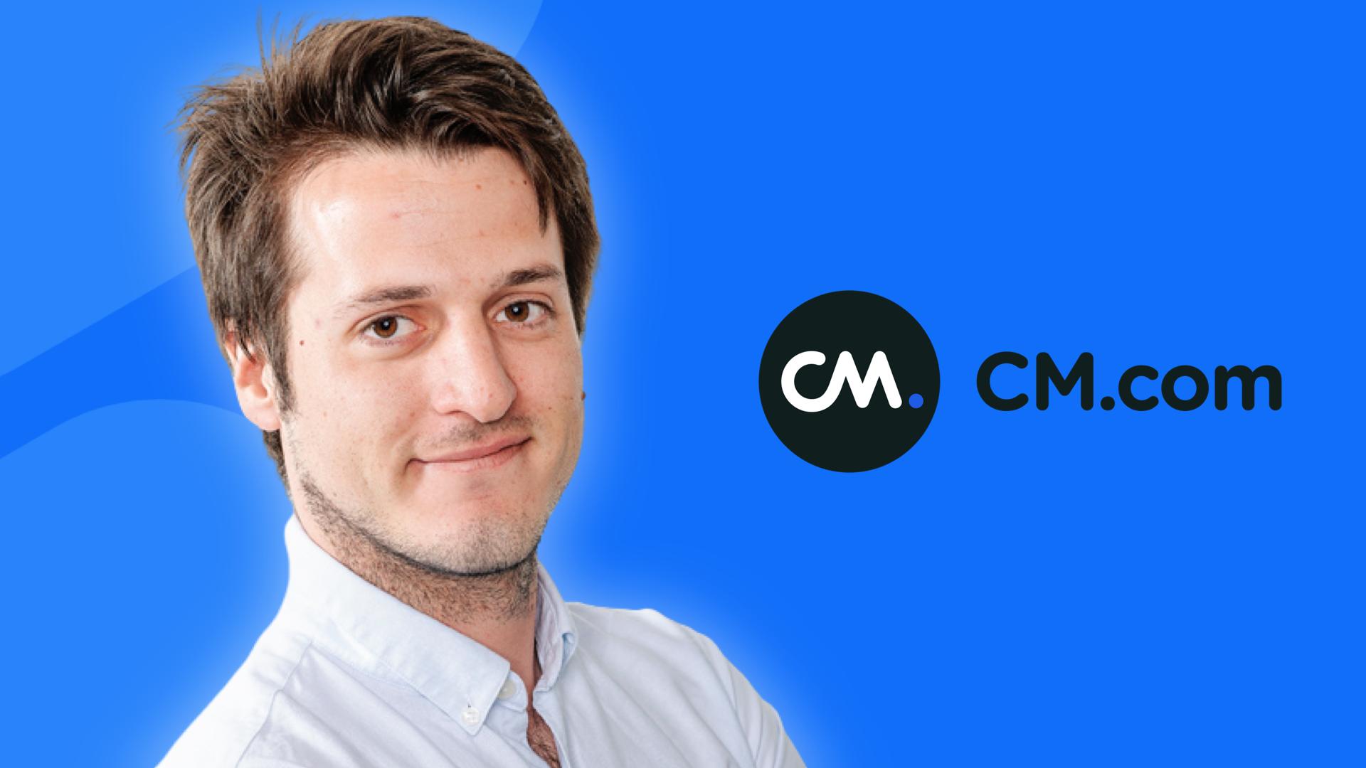 Jean Drapier, CM.com : « Notre plateforme supporte tous les pics de charge dûs aux envois massifs par SMS »