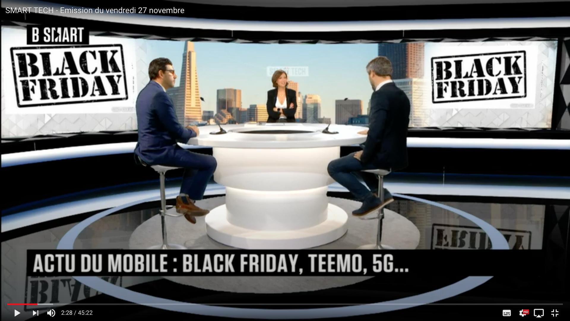 """Cette année le Black Friday est un """"Mobile Friday"""""""