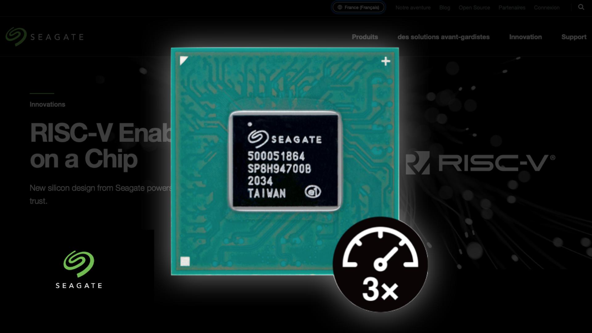 Un fabricant de disques dur est-il en train de concevoir les futures puces RISC-V de nos smartphones ?