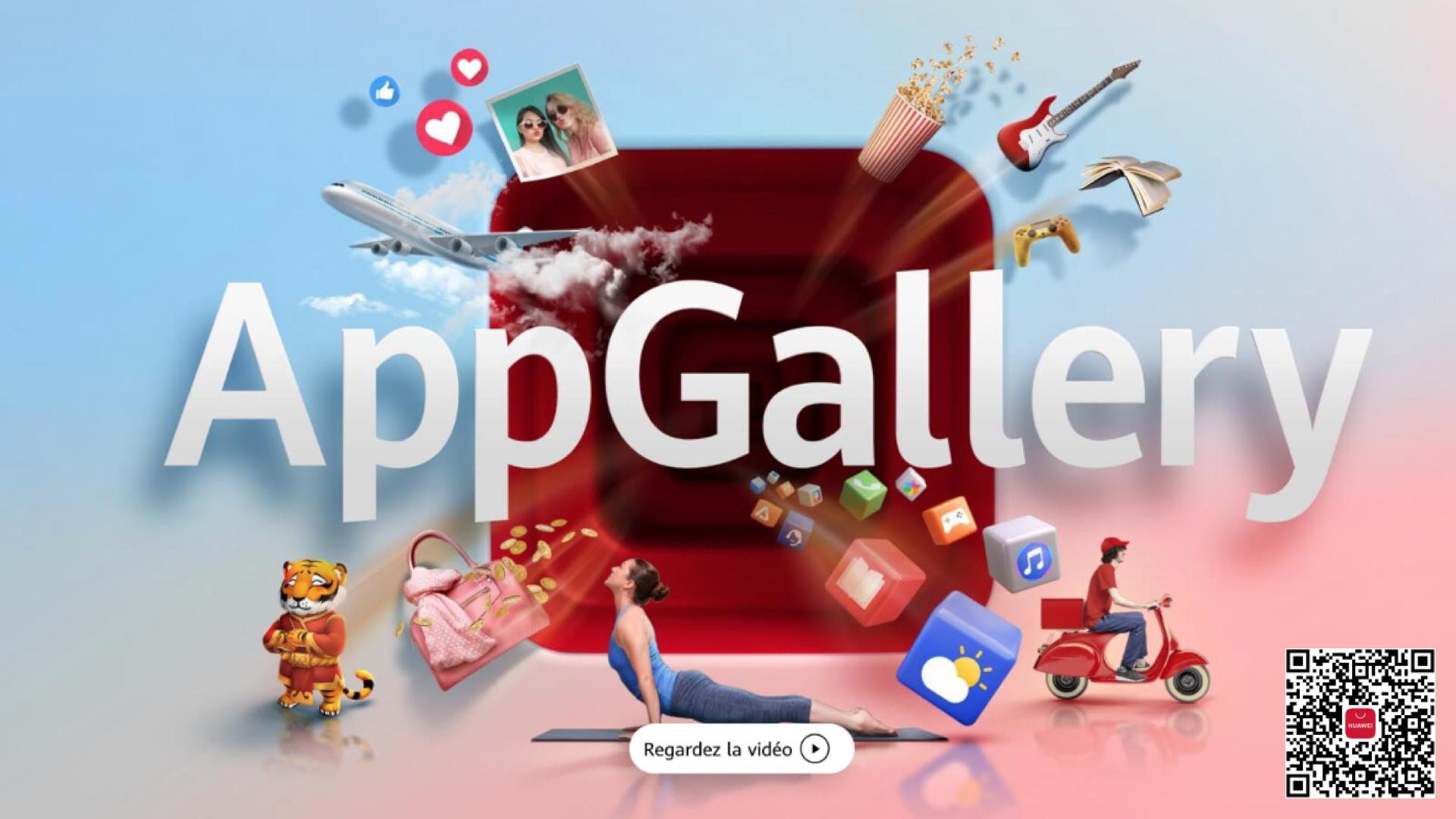 Huawei revendique un demi milliard d'utilisateurs de son AppGallery