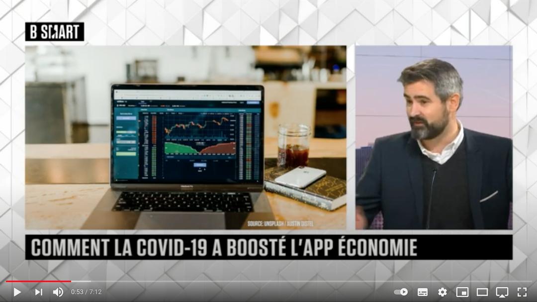 Comment le Covid-19 a boosté l'App Economie