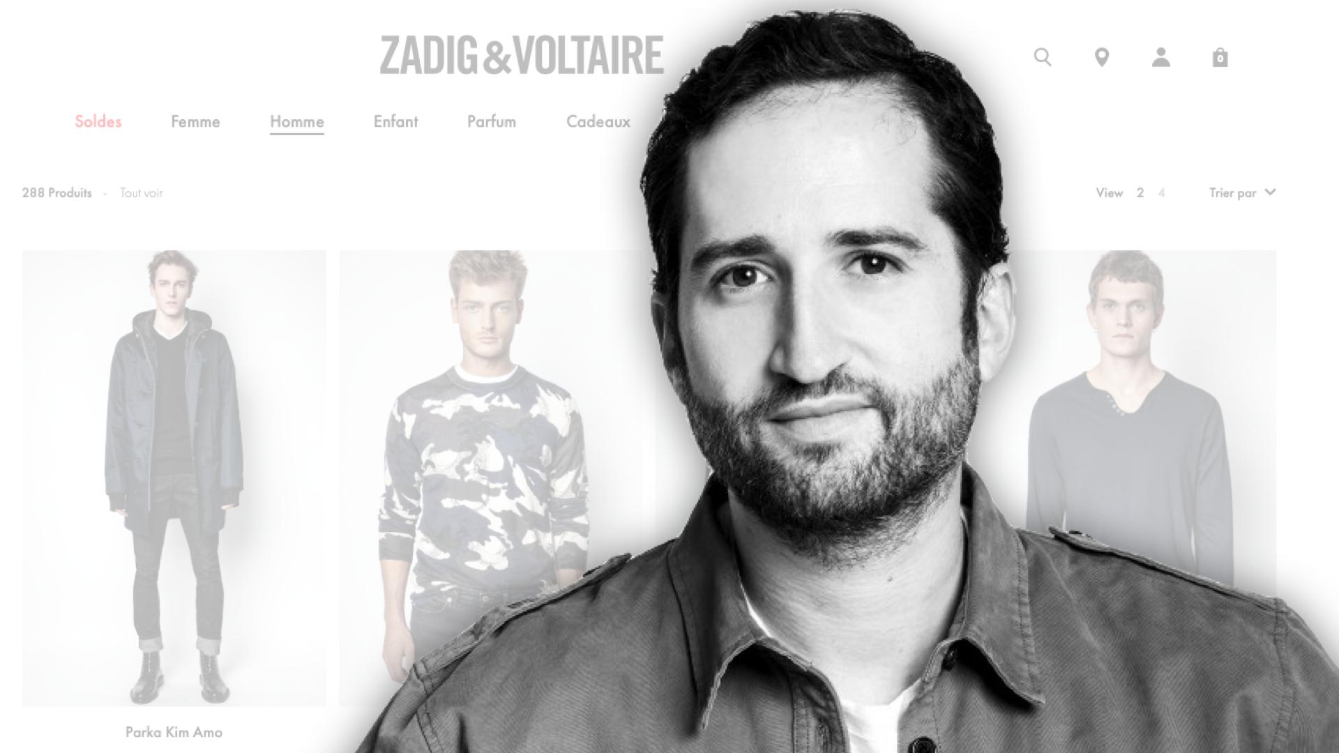 Jonathan Attali, Zadig & Voltaire : « Le mobile représente plus de 50% de nos transactions »