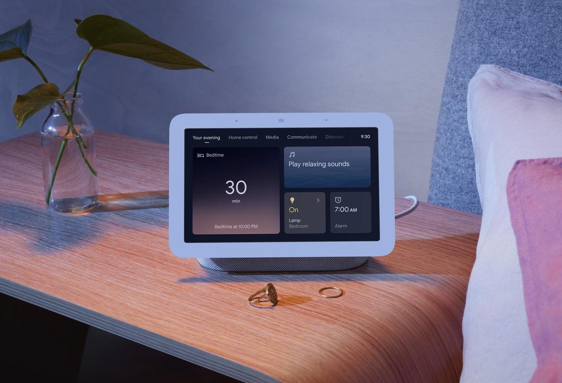Google commercialise un nouveau Nest Hub, son « smart speaker » à écran