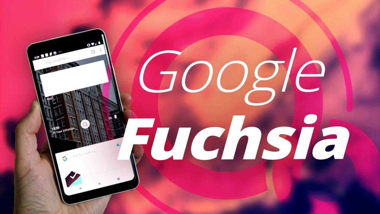 Google commence le déploiement de Fuchsia, son nouveau système d'exploitation