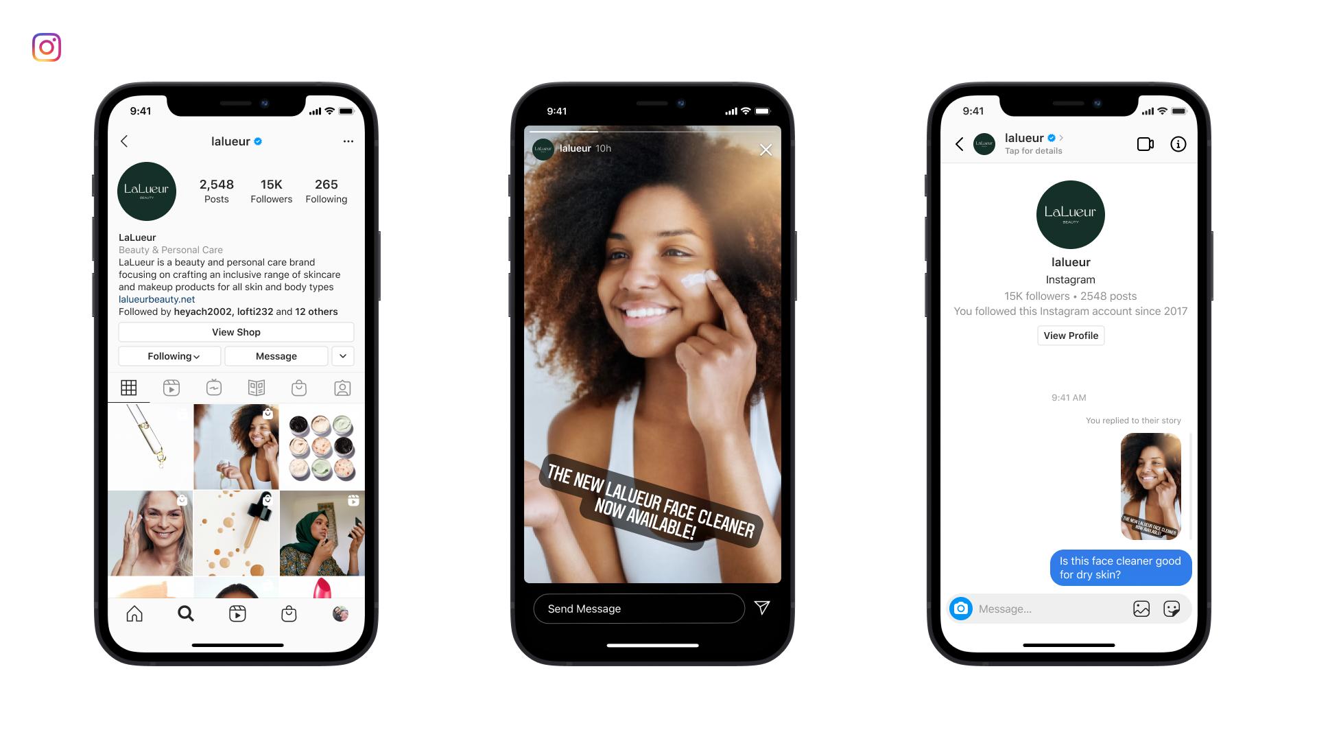 Facebook connecte l'API de Messenger à Instagram Messaging