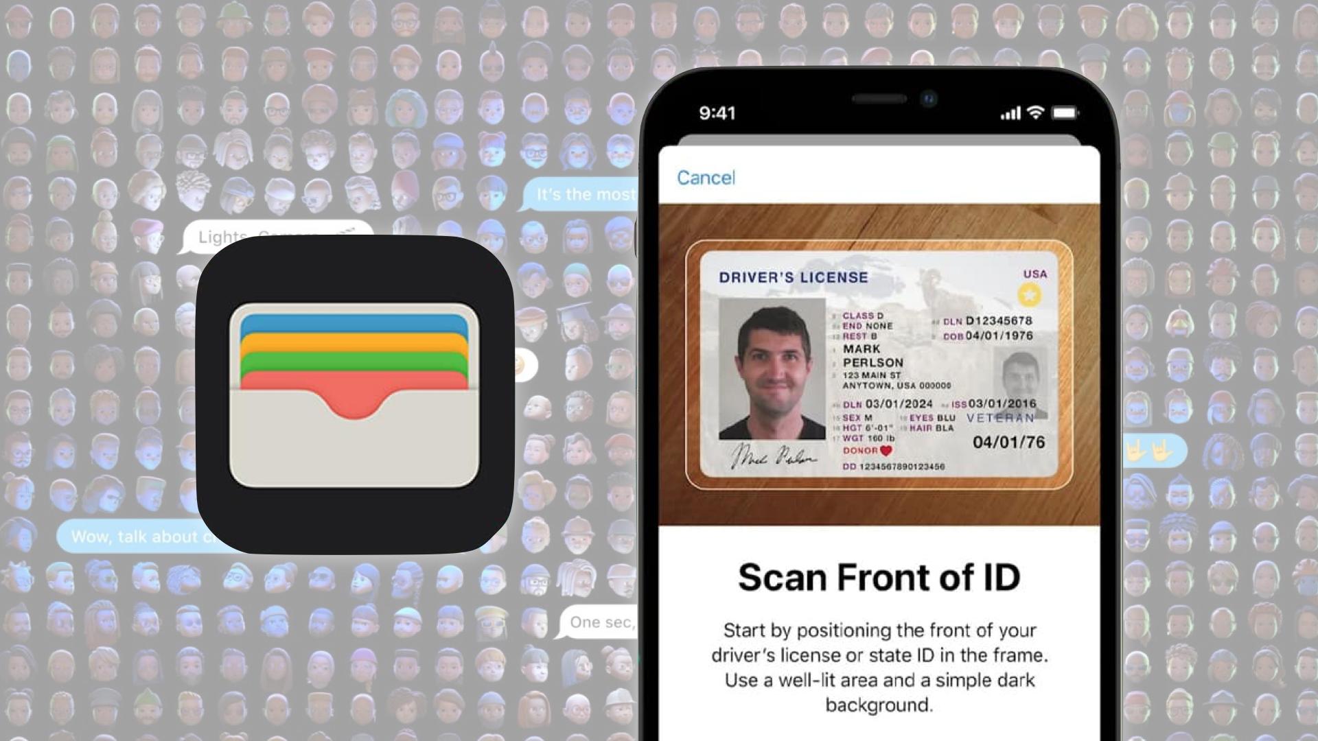 Apple Wallet va intégrer les papiers d'identité aux Etats-Unis