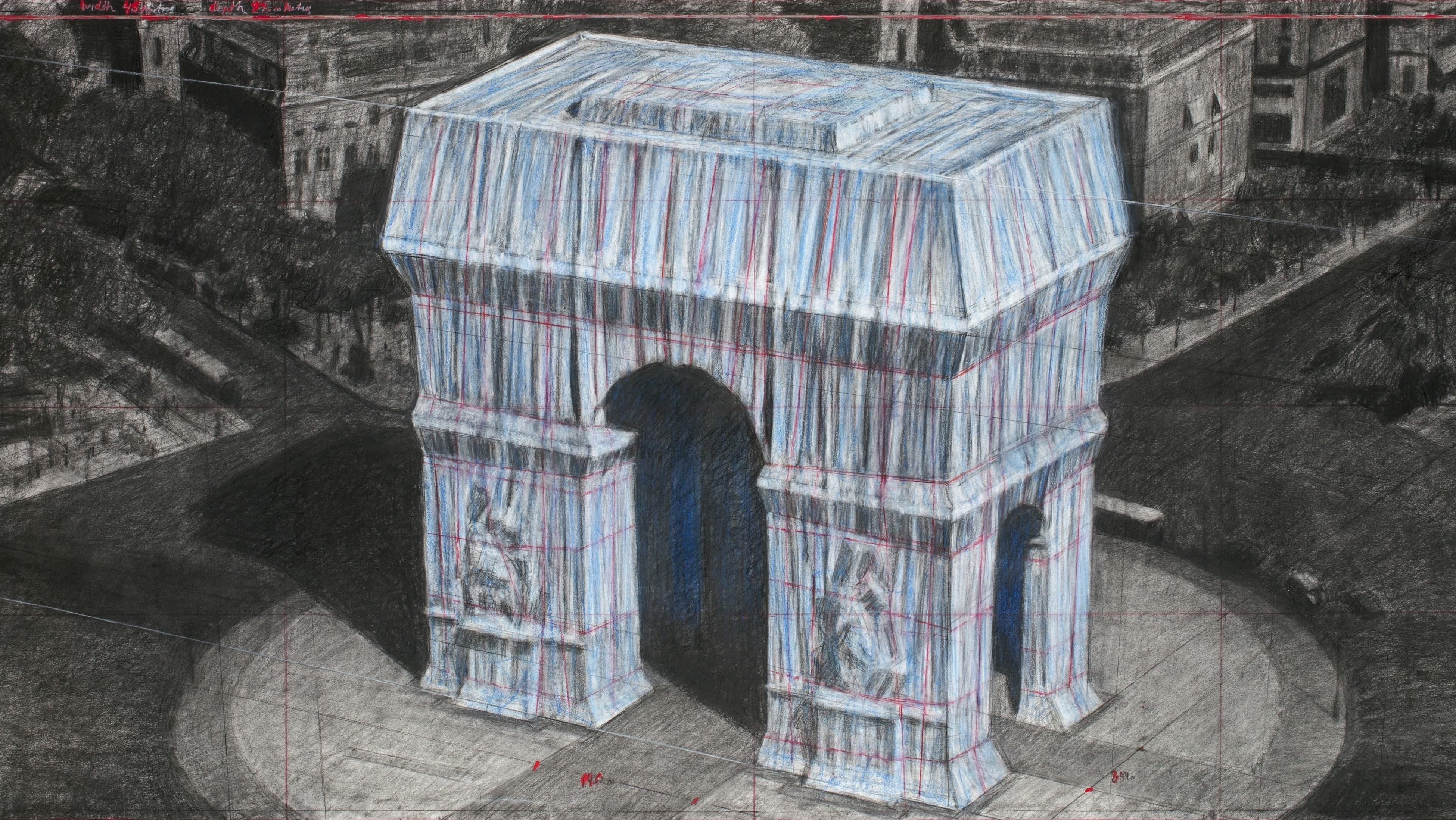 AR: Snap et Sotheby's permettent à chacun de vivre l'emballage de l'Arc de Triomphe