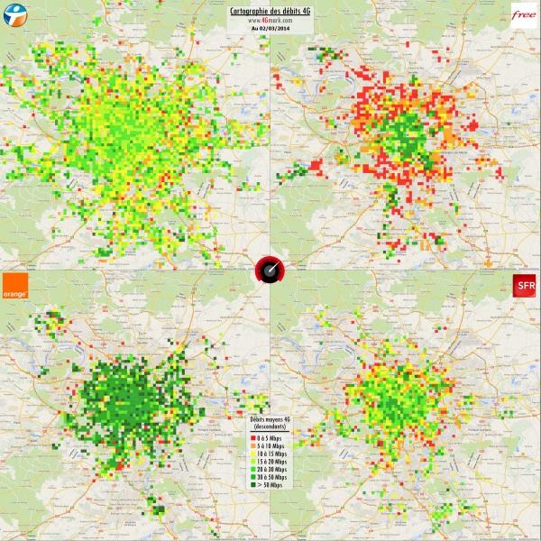 4G : Bouygues Telecom couvre désormais 69% du territoire français