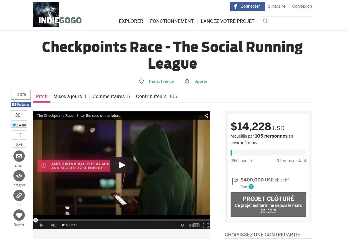 Checkpoints Race - Pivoter pour mieux régner