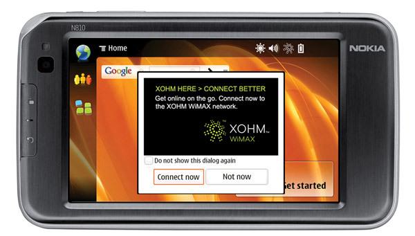 Nokia met du Wimax dans sa tablette tactile