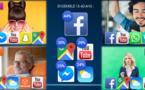 Les jeunes Français plébiscitent les applications mobiles de messagerie