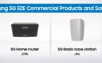 Samsung annonce une gamme complète de produits et de solutions 5G