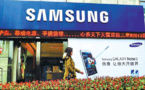 Les ventes de smartphones de Samsung ont chuté de 60% en Chine