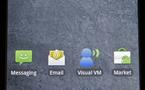 Premières copies d'écran de Google Android 2.0