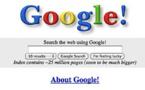 Le domaine Google.com a été enregistré pour la première fois il y a déjà 20 ans !