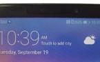 """Huawei Mate 10 : La première photo """"réelle"""" montre des bordures super minces"""