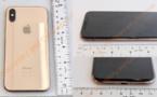 La FCC semble avoir laissé fuiter des photos d'un iPhone X couleur « Or »