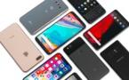 Les expéditions de smartphones ont baissé globalement de 3% au T1 2018