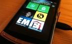 Première prise en main Windows Phone 7