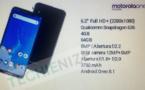 Motorola One Power – les spécifications du téléphone ont filtré