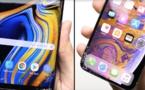 Tests de chute : l'iPhone XS survit à de multiples chutes, mais perd face au Samsung Note 9
