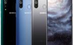 Le Samsung A8s est le premier téléphone de la marque doté d'un écran perforé Infinity-O