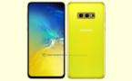 Le Samsung Galaxy S10e révélé en jaune canari