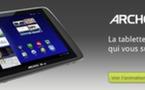 Archos fait sa rentrée avec la tablette G9 sous Android 3.2 Honeycomb