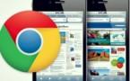 Google chrome gagne du terrain sur l'iOS d'Apple