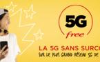 Free lance sa 5G en illimité sur plus de 5000 antennes