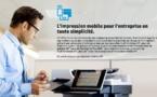 HP Démocratise l'impression mobile