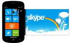 Skype ne sera plus disponible sur Windows Phone 7