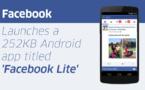 Facebook Lite désormais disponible en Inde et aux Philippines