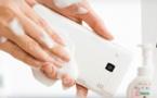 Le fabricant japonais Kyocera lance un smartphone qu'on peut laver au savon