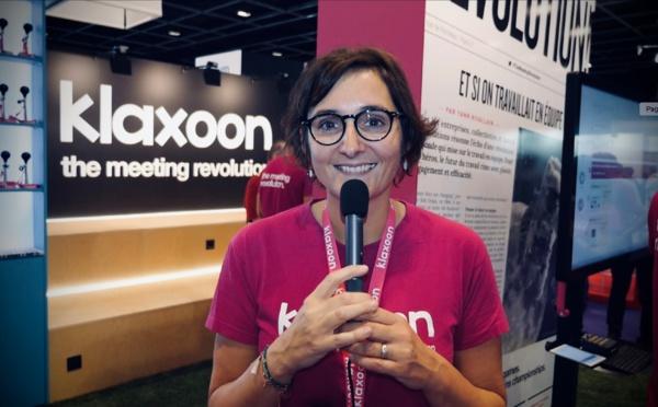 """Marie Barbesol : """"Klaxoon permet de faire des brainstorming à distance"""""""