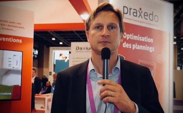 """Jean de Broissia, Praxedo : """"Notre solution combine Cloud et mobilité"""""""