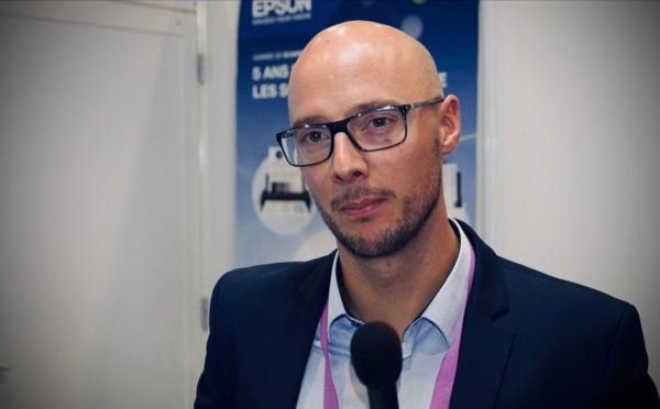 """Pierre Delautre, Epson : """"Nos scanners mobiles offrent une résolution supérieure à celles des smartphones"""""""