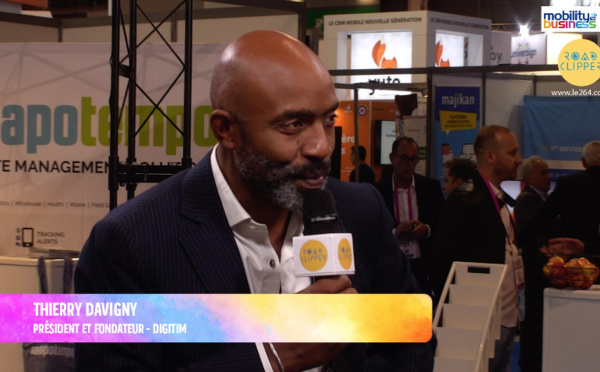 """Thierry Davigny, DIGITIM : """"Le smartphone est la pierre angulaire de la digitalisation des entreprises"""""""