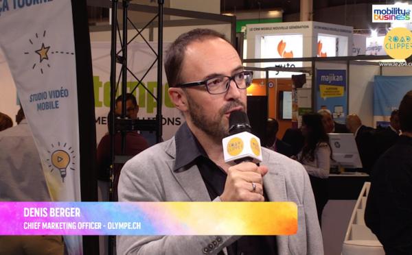 """Denis Berger, Olympe : """"Notre plate-forme simplifie le développement d'applications"""""""